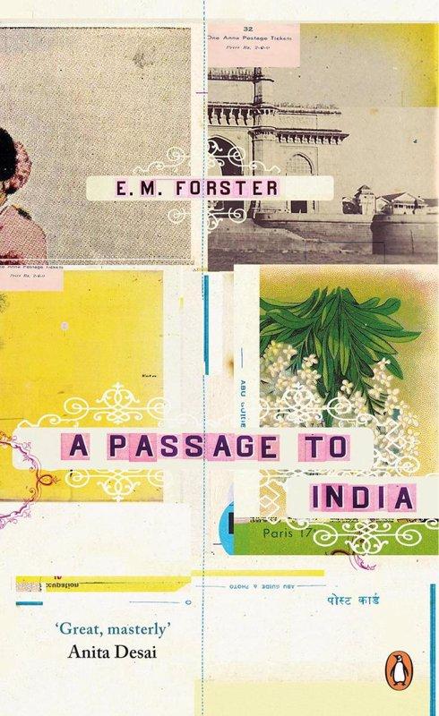 De voorkant van het boek met de titel : A Passage to India