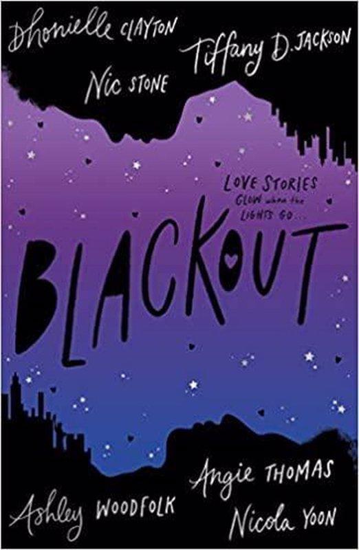 De voorkant van het boek met de titel : Blackout