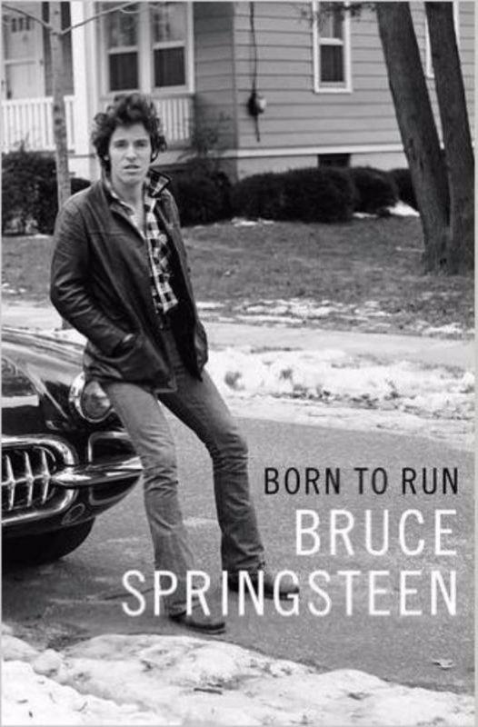 De voorkant van het boek met de titel : Born to Run