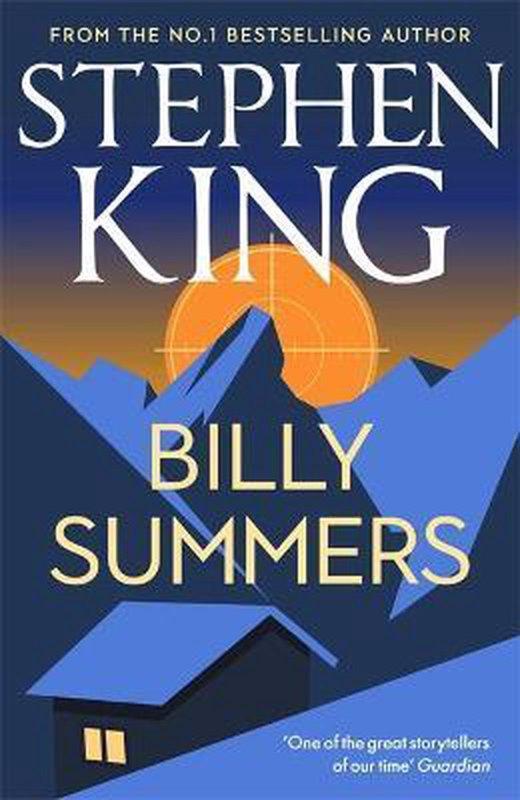 De voorkant van het boek met de titel : Billy Summers