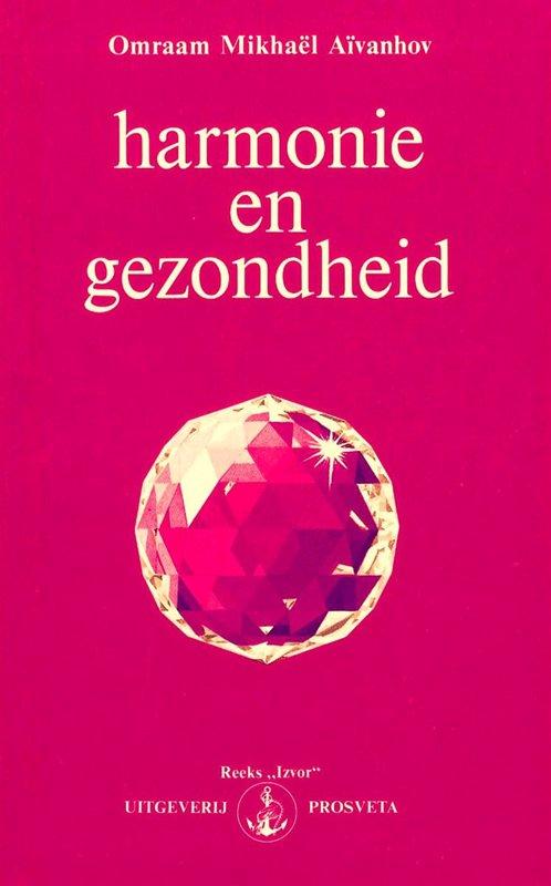 De voorkant van het boek met de titel : Harmonie en gezondheid