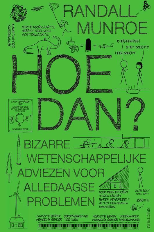 De voorkant van het boek met de titel : Hoe dan?
