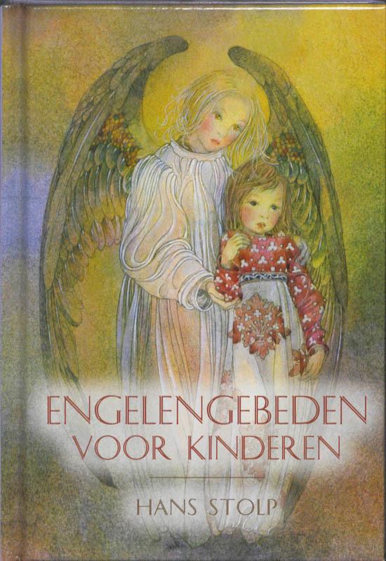 De voorkant van het boek met de titel : Engelengebeden voor kinderen