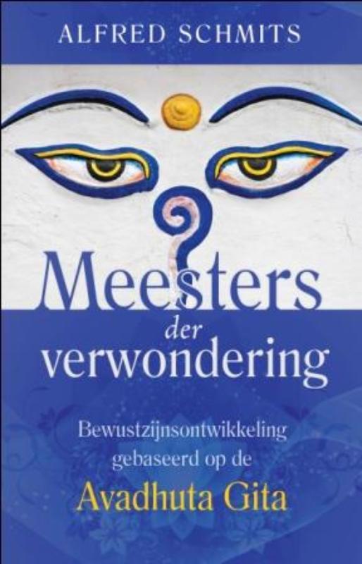 De voorkant van het boek met de titel : Meesters der verwondering