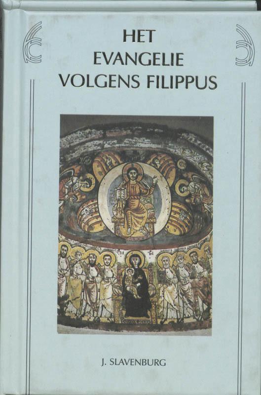 De voorkant van het boek met de titel : Het evangelie volgens Filippus