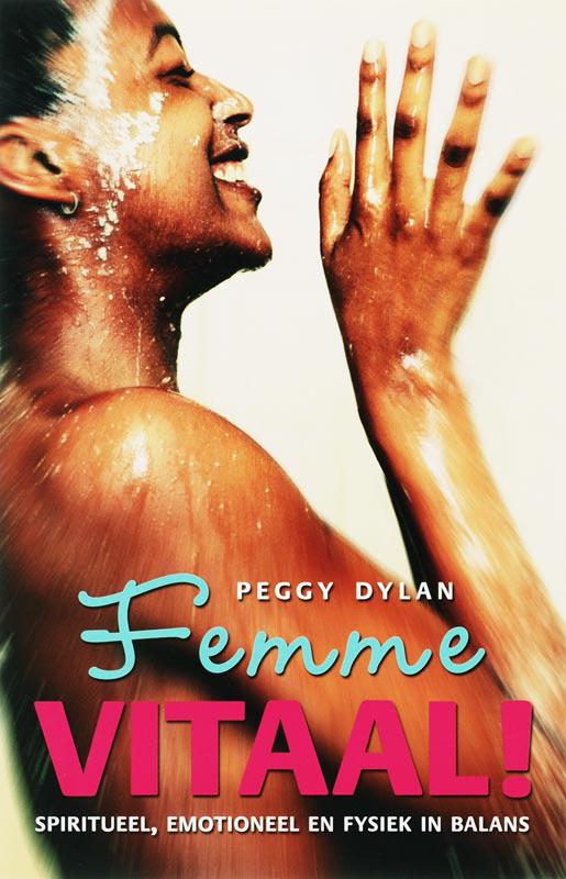 De voorkant van het boek met de titel : Femme Vitaal!