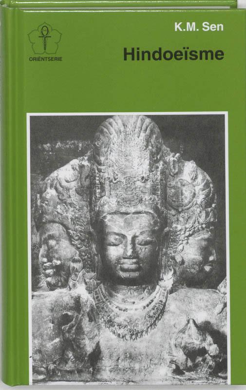 De voorkant van het boek met de titel : Hindoeisme