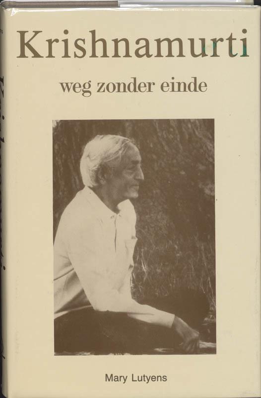 De voorkant van het boek met de titel : Krishnamurti