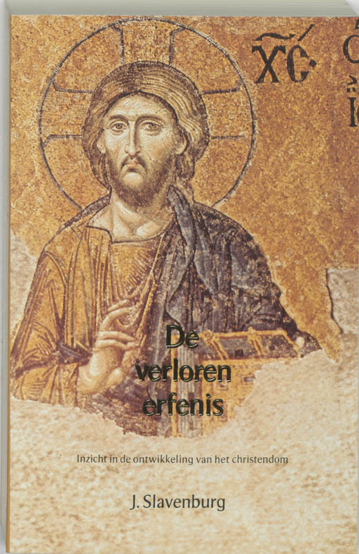 De voorkant van het boek met de titel : De verloren erfenis