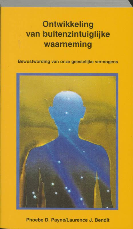 De voorkant van het boek met de titel : Ontwikkeling van buitenzintuiglijke waarneming (ESP)