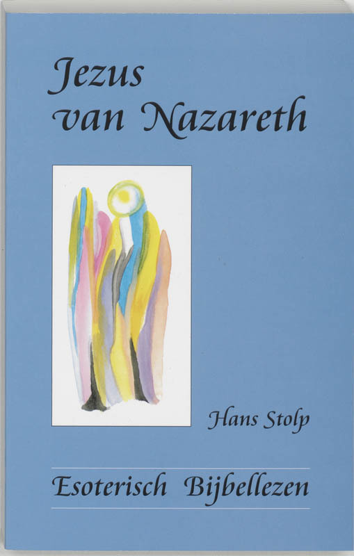 De voorkant van het boek met de titel : Jezus van Nazareth