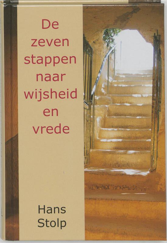 De voorkant van het boek met de titel : De zeven stappen naar wijsheid en vrede