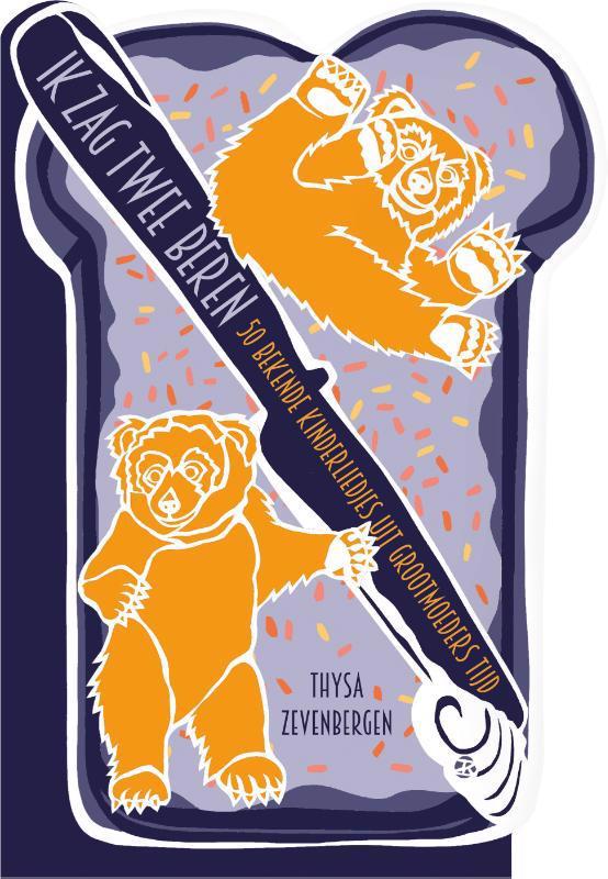 De voorkant van het boek met de titel : Ik zag twee beren