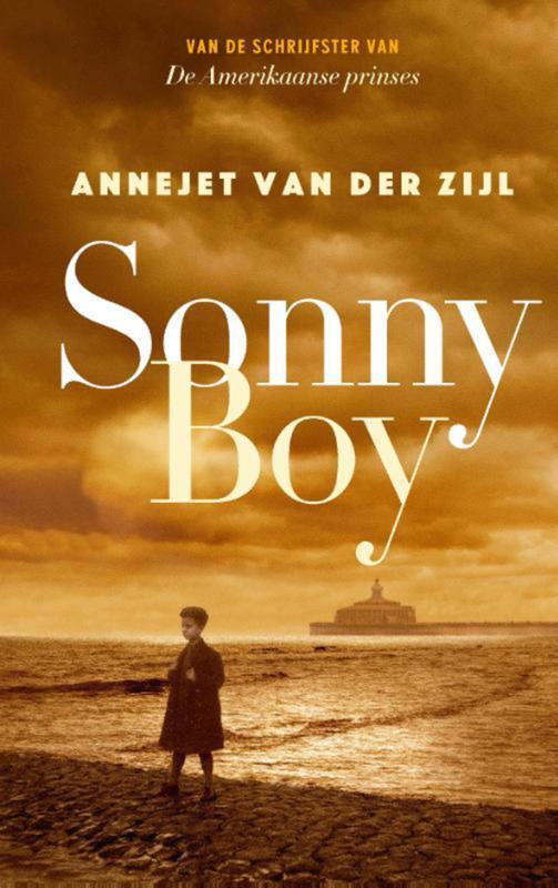 De voorkant van het boek met de titel : Sonny Boy