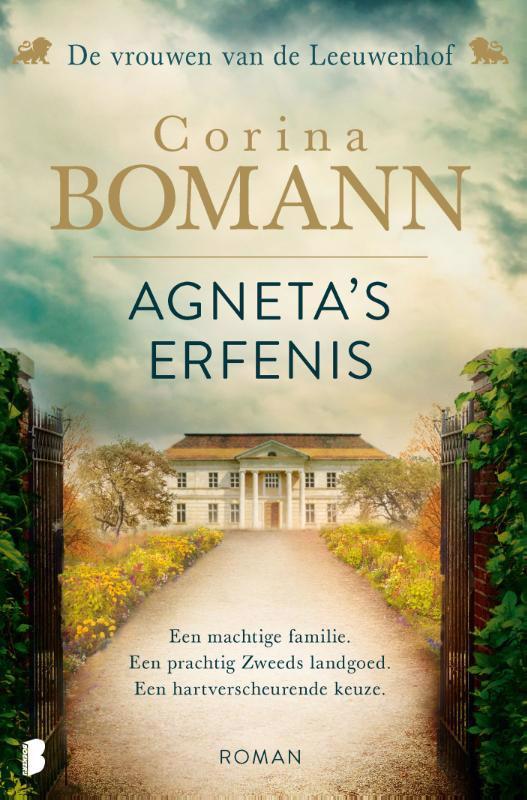 De voorkant van het boek met de titel : Agneta's erfenis