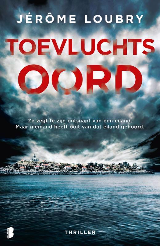 De voorkant van het boek met de titel : Toevluchtsoord