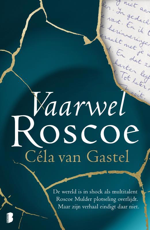 De voorkant van het boek met de titel : Vaarwel Roscoe