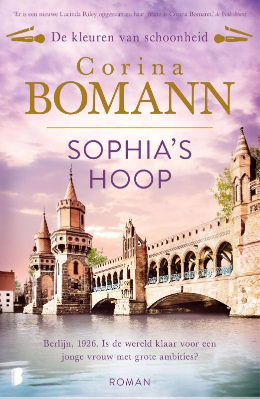 De voorkant van het boek met de titel : Sophia's hoop
