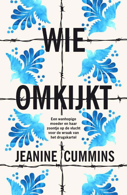 De voorkant van het boek met de titel : Wie omkijkt