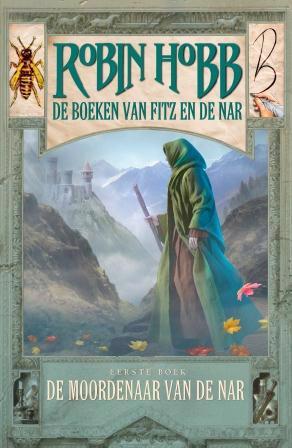 De voorkant van het boek met de titel : De moordenaar van de Nar