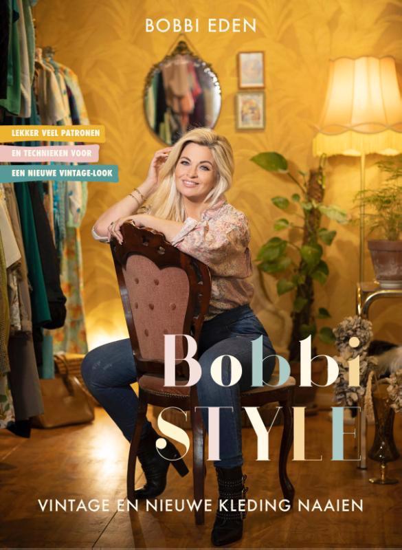 De voorkant van het boek met de titel : Bobbi style