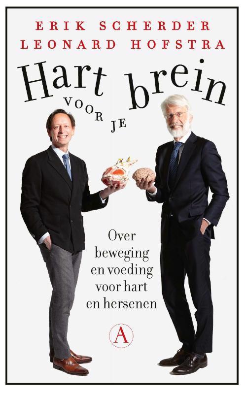 De voorkant van het boek met de titel : Hart voor je brein