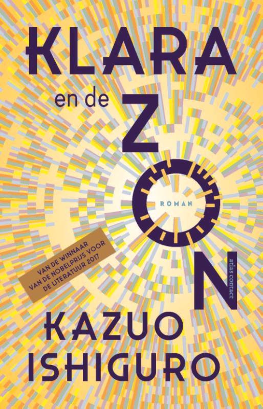 De voorkant van het boek met de titel : Klara en de Zon