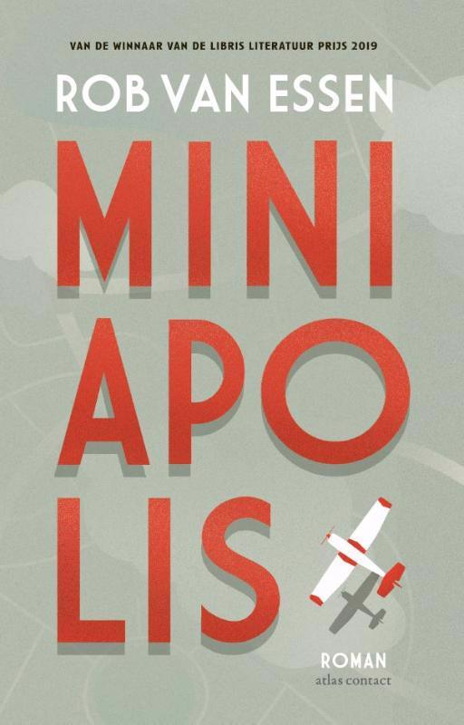 De voorkant van het boek met de titel : Miniapolis