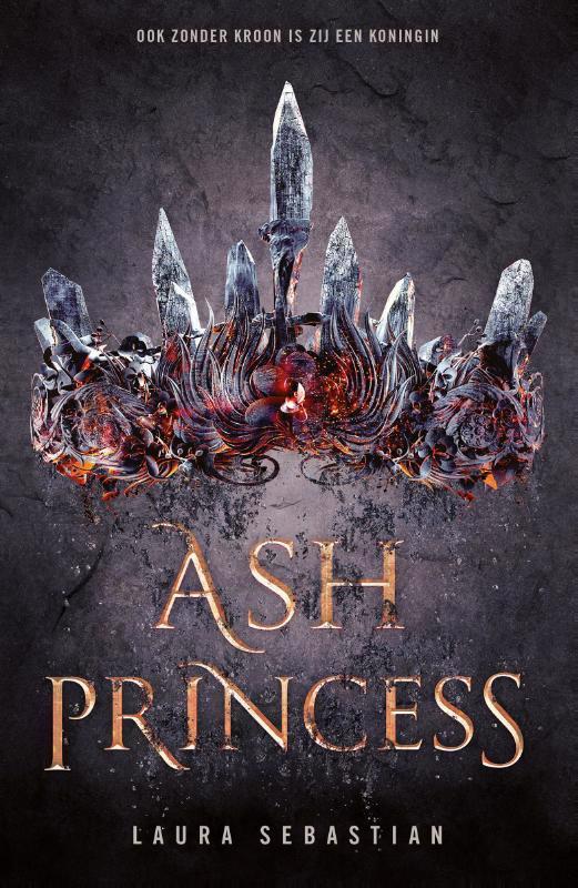De voorkant van het boek met de titel : Ash Princess