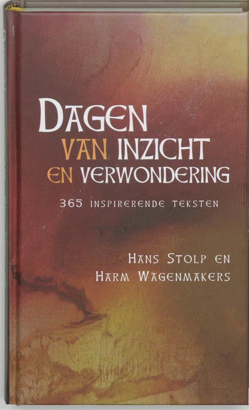 De voorkant van het boek met de titel : Dagen van inzicht en verwondering