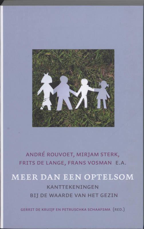 De voorkant van het boek met de titel : Meer dan een optelsom