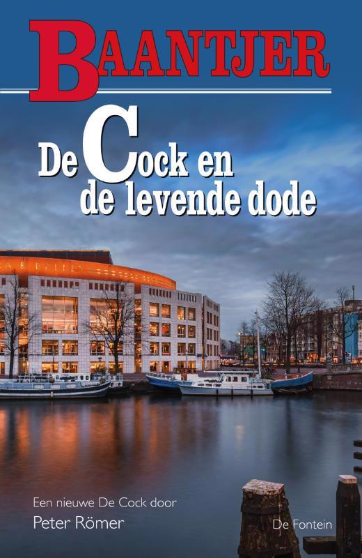 De voorkant van het boek met de titel : De Cock en de levende dode