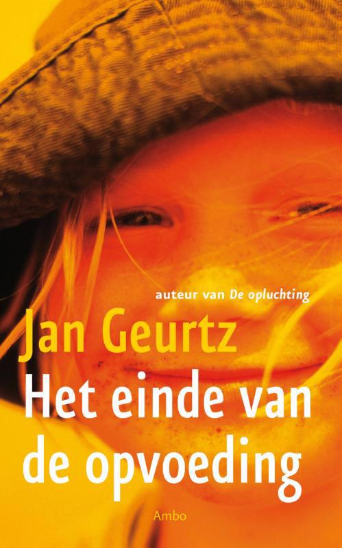 De voorkant van het boek met de titel : Het einde van de opvoeding