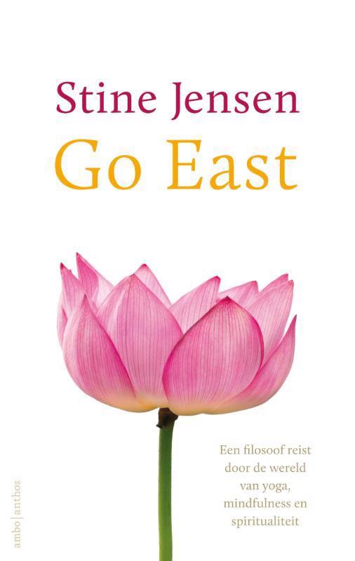 De voorkant van het boek met de titel : Go east