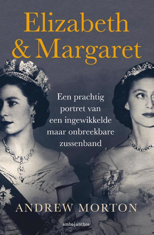 De voorkant van het boek met de titel : Elizabeth & Margaret