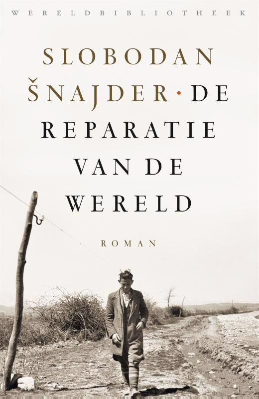 De voorkant van het boek met de titel : De reparatie van de wereld