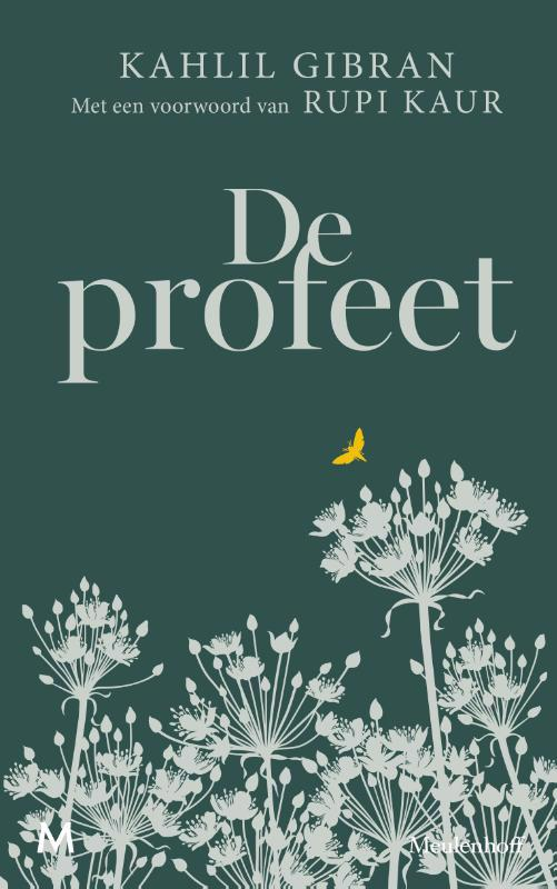 De voorkant van het boek met de titel : De profeet