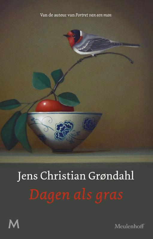 De voorkant van het boek met de titel : Dagen als gras
