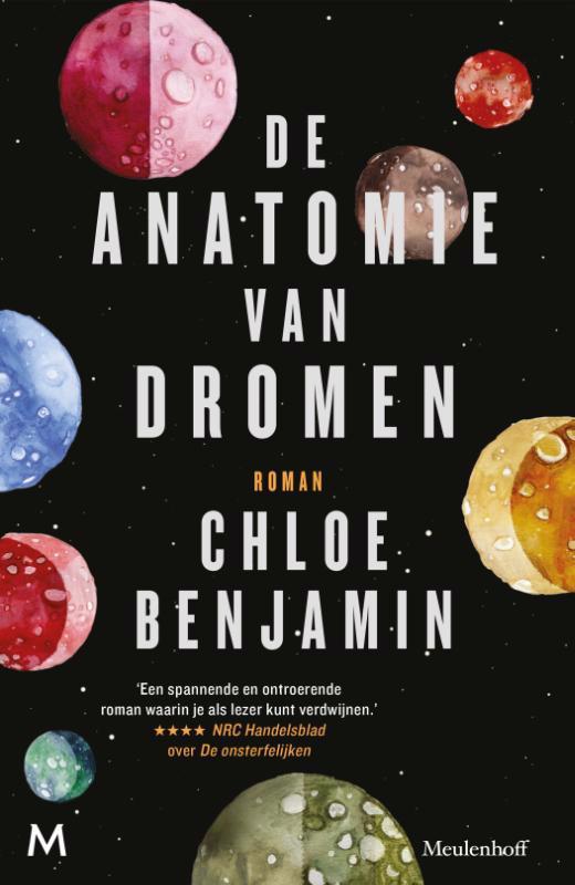De voorkant van het boek met de titel : De anatomie van dromen