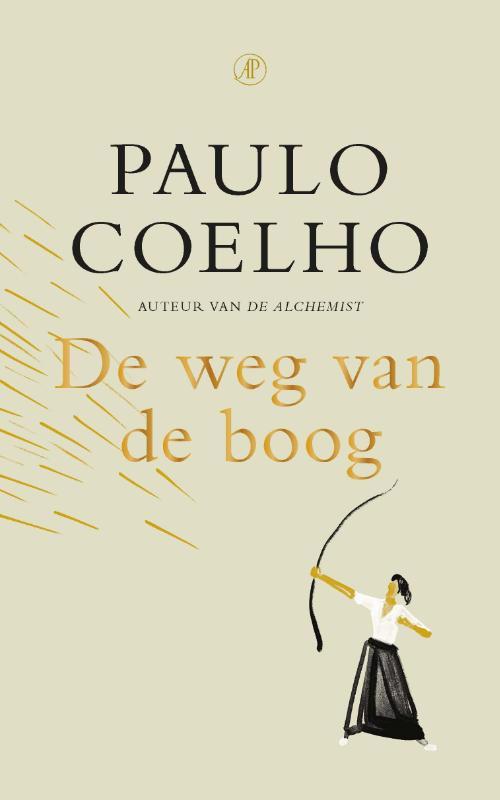 De voorkant van het boek met de titel : De weg van de boog