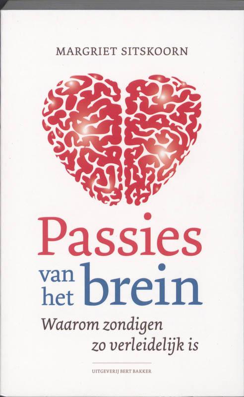 De voorkant van het boek met de titel : Passies van het brein