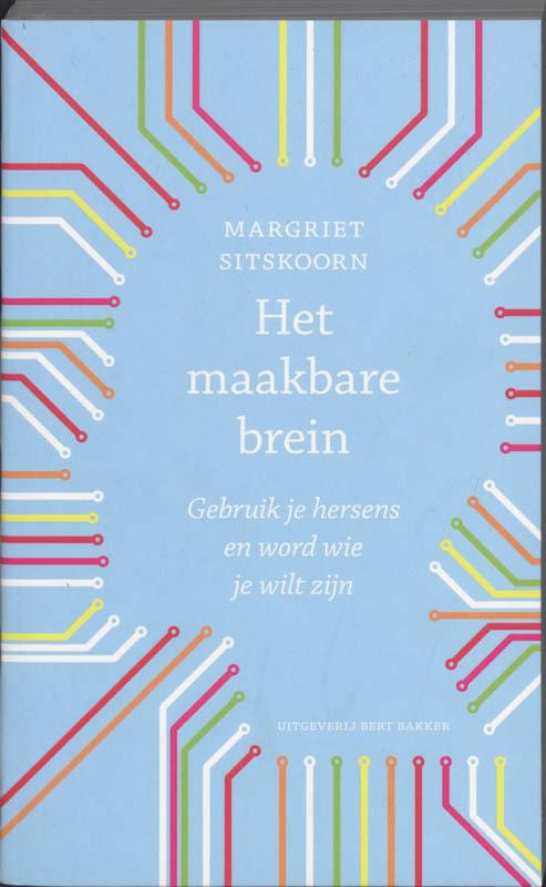 De voorkant van het boek met de titel : Maakbare brein