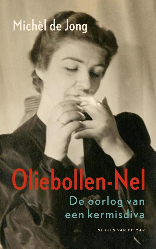 De voorkant van het boek met de titel : Oliebollen-Nel