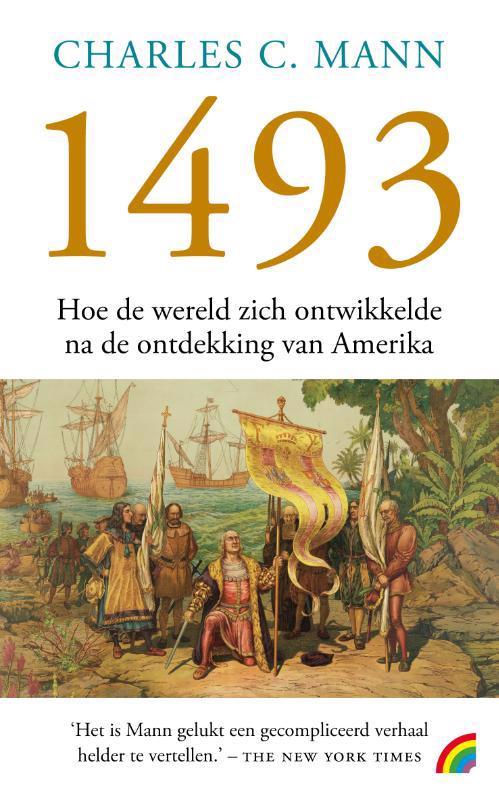 De voorkant van het boek met de titel : 1493