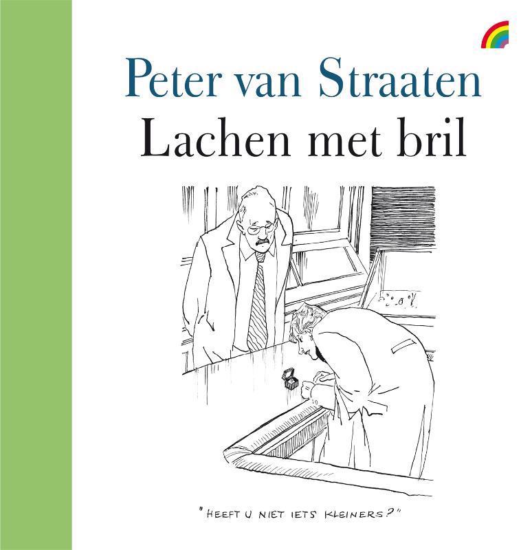 De voorkant van het boek met de titel : Lachen met bril