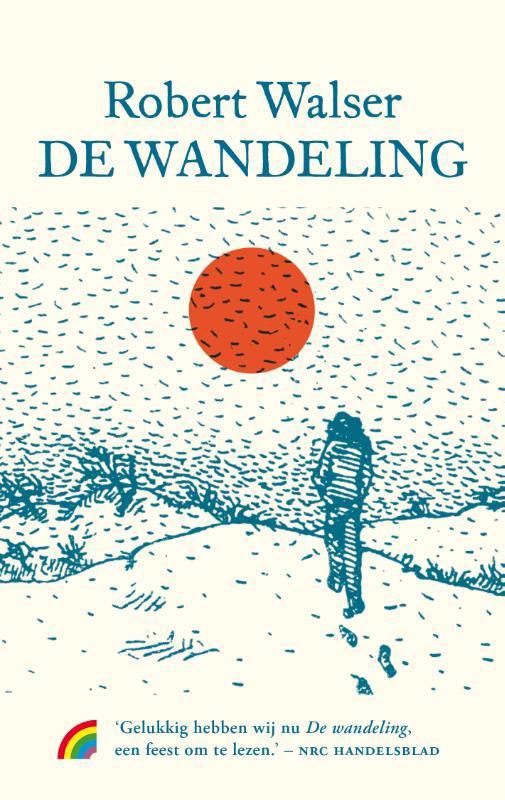 De voorkant van het boek met de titel : De wandeling