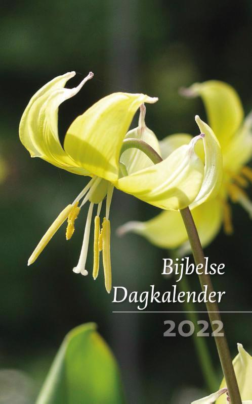 De voorkant van het boek met de titel : Bijbelse Dagkalender