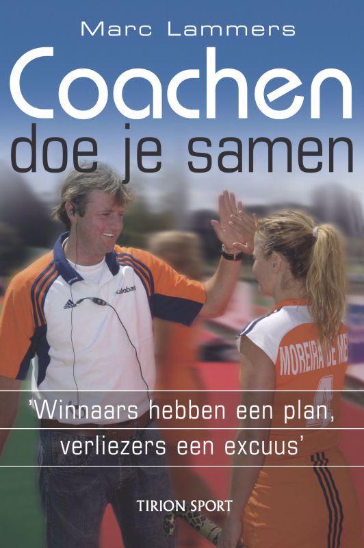 De voorkant van het boek met de titel : Coachen doe je samen