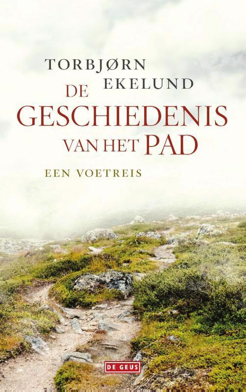 De voorkant van het boek met de titel : De geschiedenis van het pad