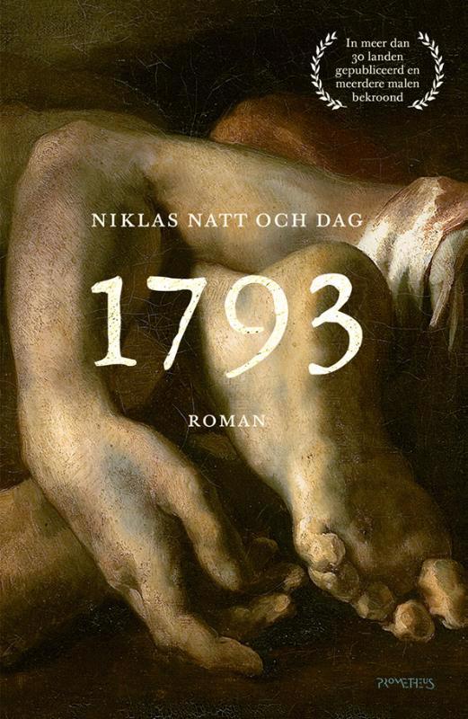 De voorkant van het boek met de titel : 1793